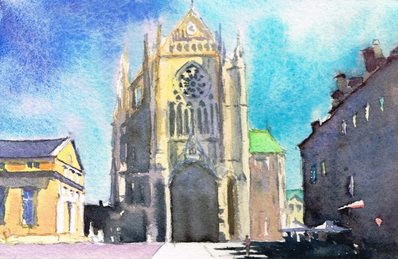 Cathédrale de face Metz