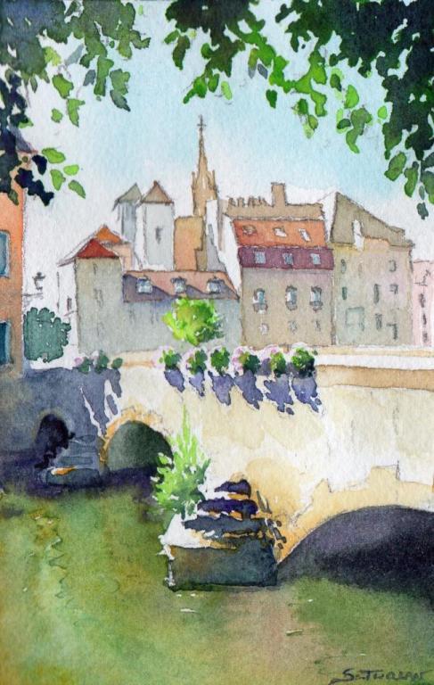Pont St Marcel
