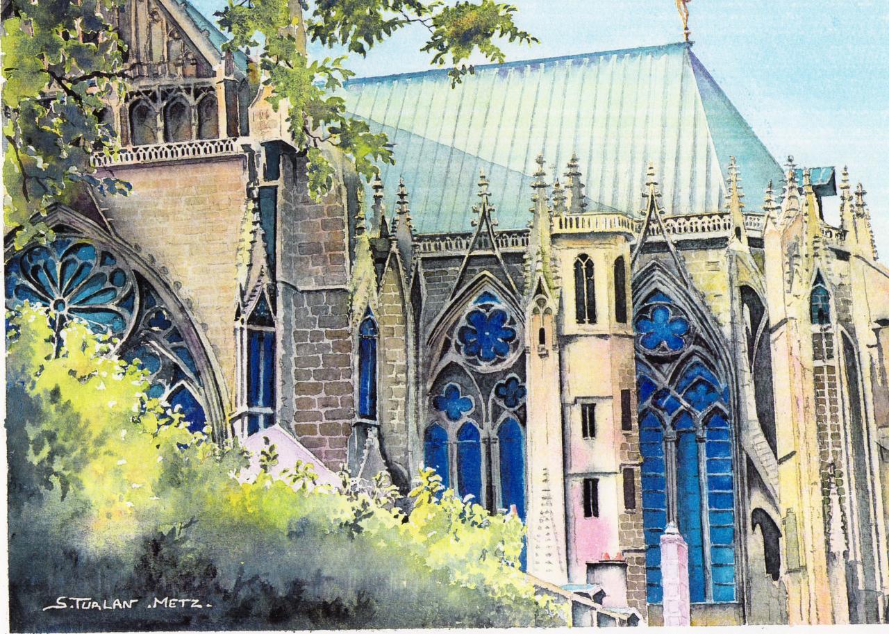 La cathédrale St Etienne