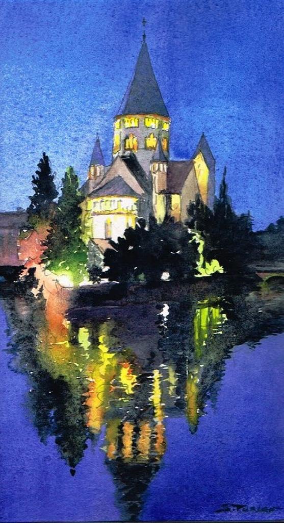 Temple de nuit Metz