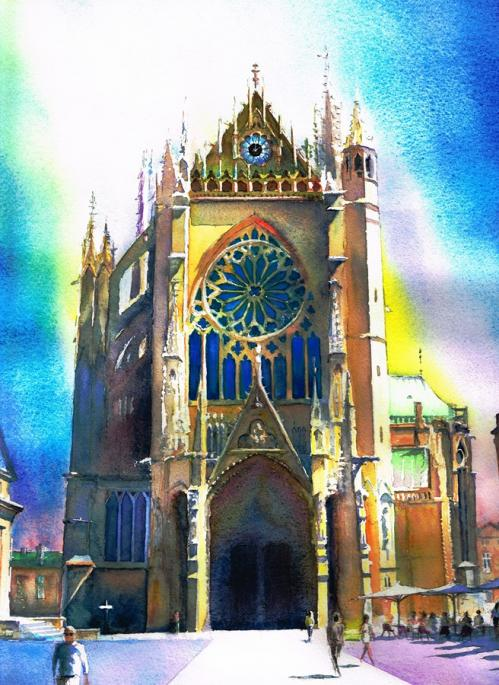 Cathedrale au soleil 2016