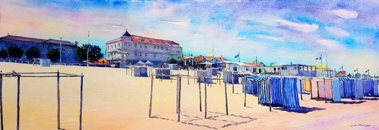 Soulac bord de plage